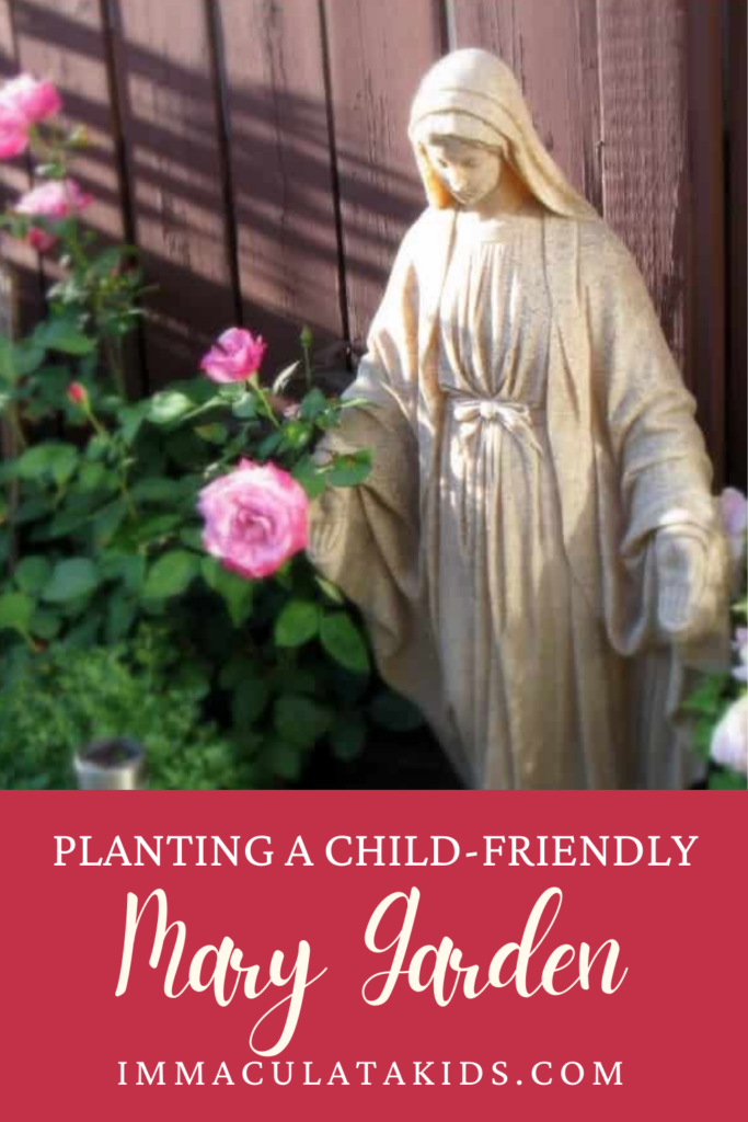 Planting a Child Friendly Mary Garden