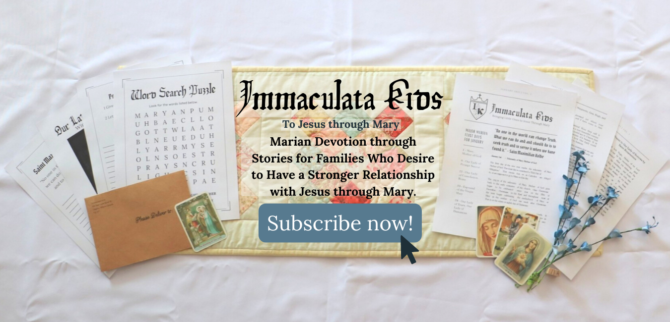 Immaculata Kids Parish Subscription