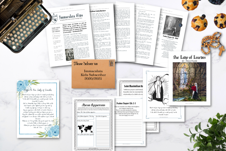 Immaculata Kids Newsletter Subscription Past Letter Showcase